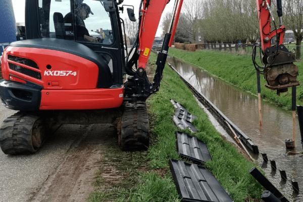 Bescherming hellingen Kwistbeek